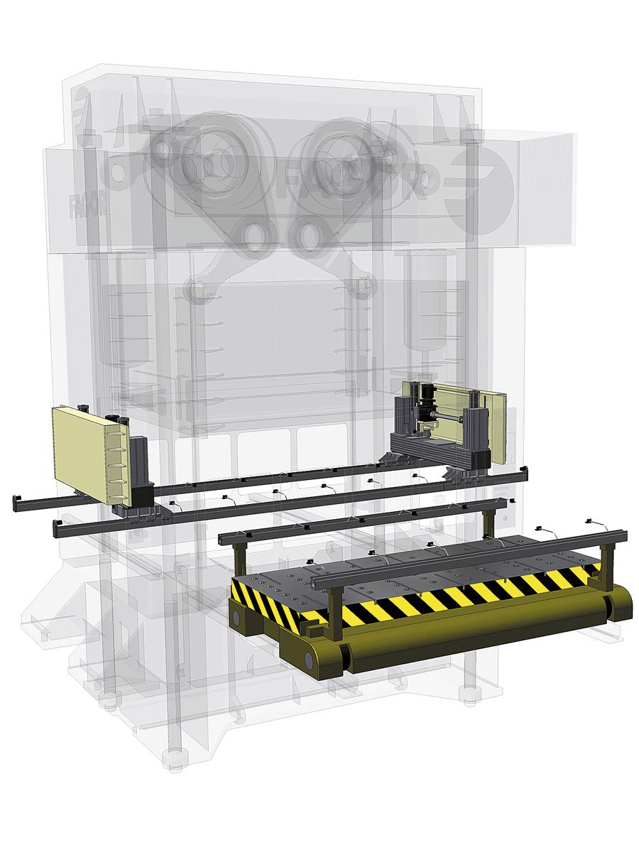 Desarrollo del Transfer electrónico y el cojín CNC.