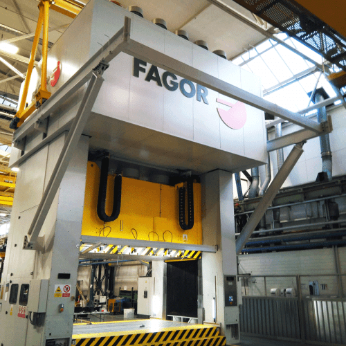 Fagor Arrasate - Servo-mechanical and/or hydraulic tryout-