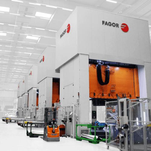 Fagor Arrasate - 伺服机械和/或液压试模-