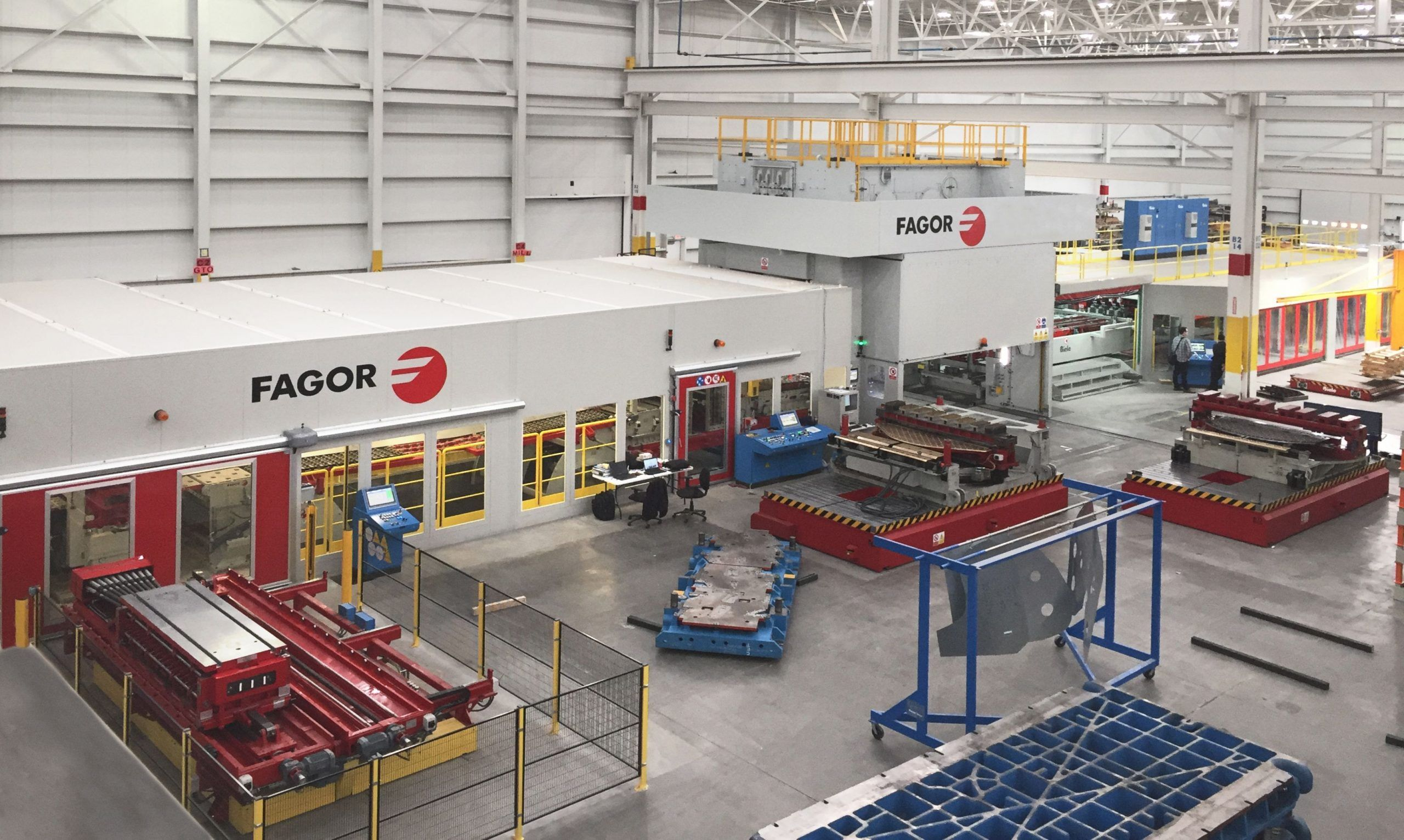 Fagor Arrasate event: Fagor Arrasate is supplying a new hybrid blanking line to the Gonvarri plant in Slovakia