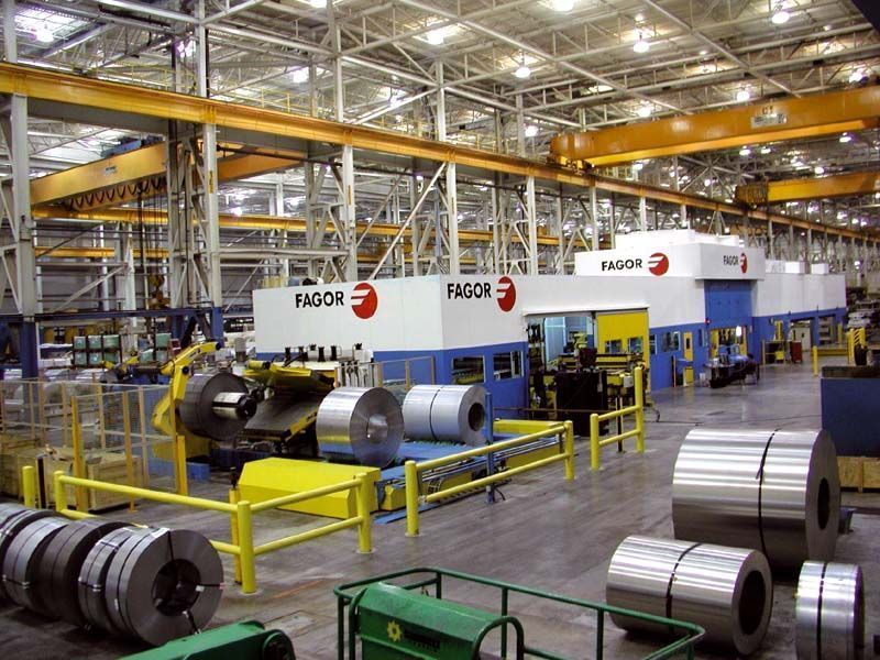 Fagor Arrasate event: ARCELORMITTAL AWARDS FAGOR ARRASATE WITH AN ORDER TO SUPPLY A NEW SERVOBLANKING LINE ABLE TO PROCESS STEEL AND ALUMINUM