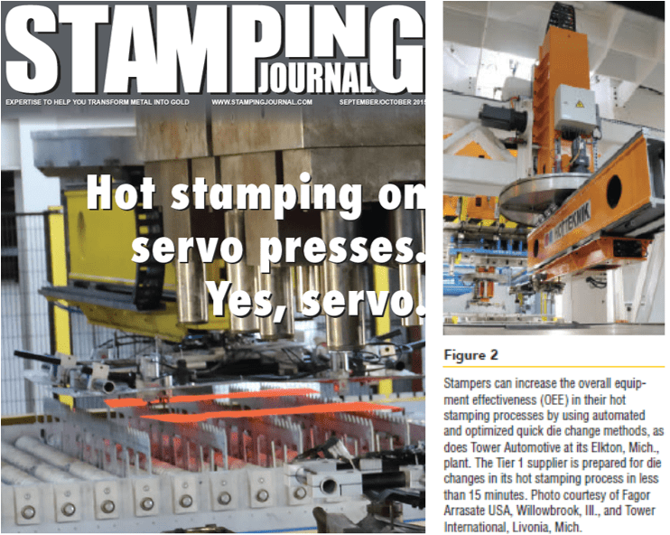Fagor Arrasate event: FAGOR ARRASATE's PHS Systems look great in Stamping Journal