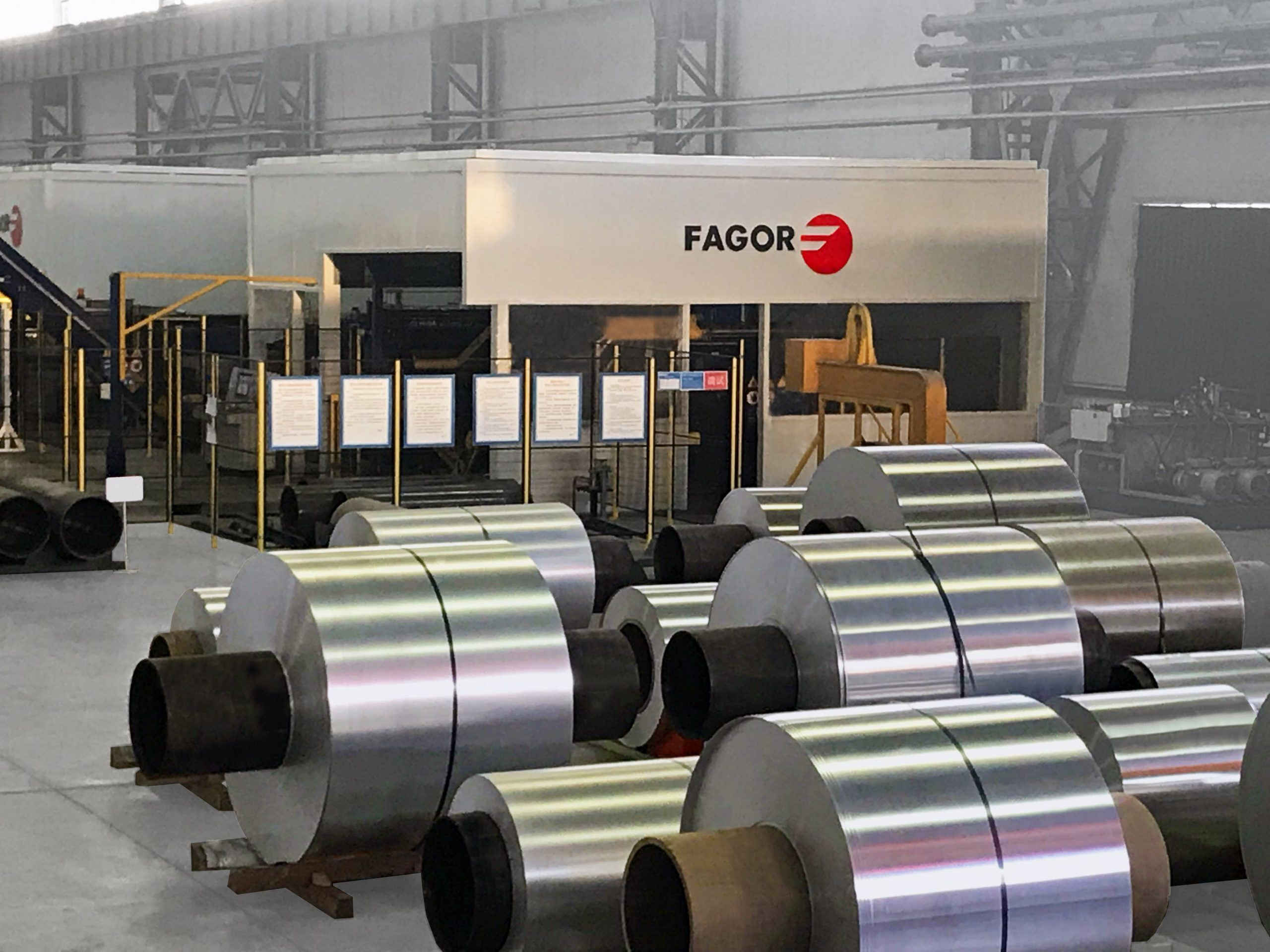 Fagor Arrasate event: FAGOR ARRASATE WILL PRESENT ITS LATEST DEVELOPMENTS IN LEVELLING, CUTTING AND STACKING ALUMINIUM AT THE ALUMINIUM CHINA TRADE FAIR