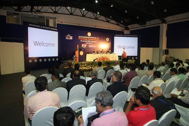 Fagor Arrasate event: GREAT SUCCESS OF FAGOR ARRASATE WITH ITS SPEECH ABOUT PRESS HARDENING IN INDIA