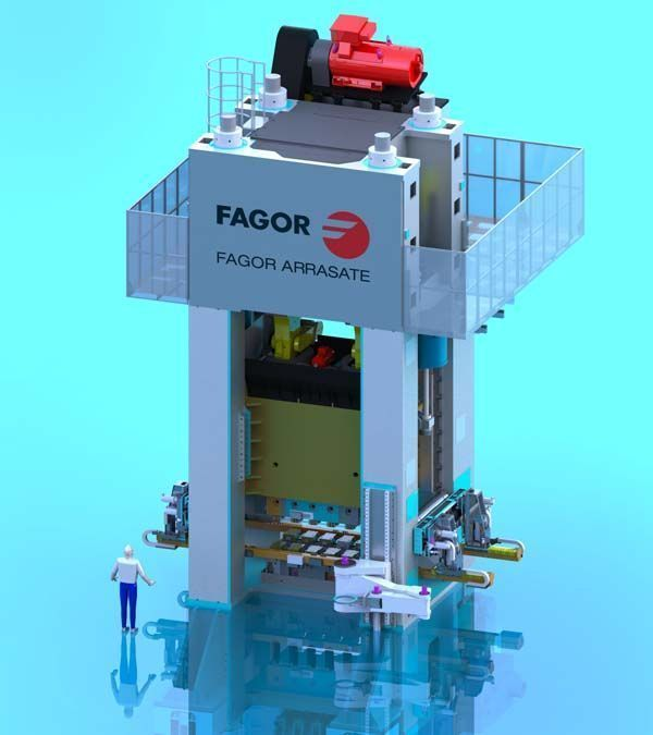 Fagor Arrasate event: Hirschvogel places an order to Fagor Arrasate for the delivery of a 2000 ton capacity transfer press