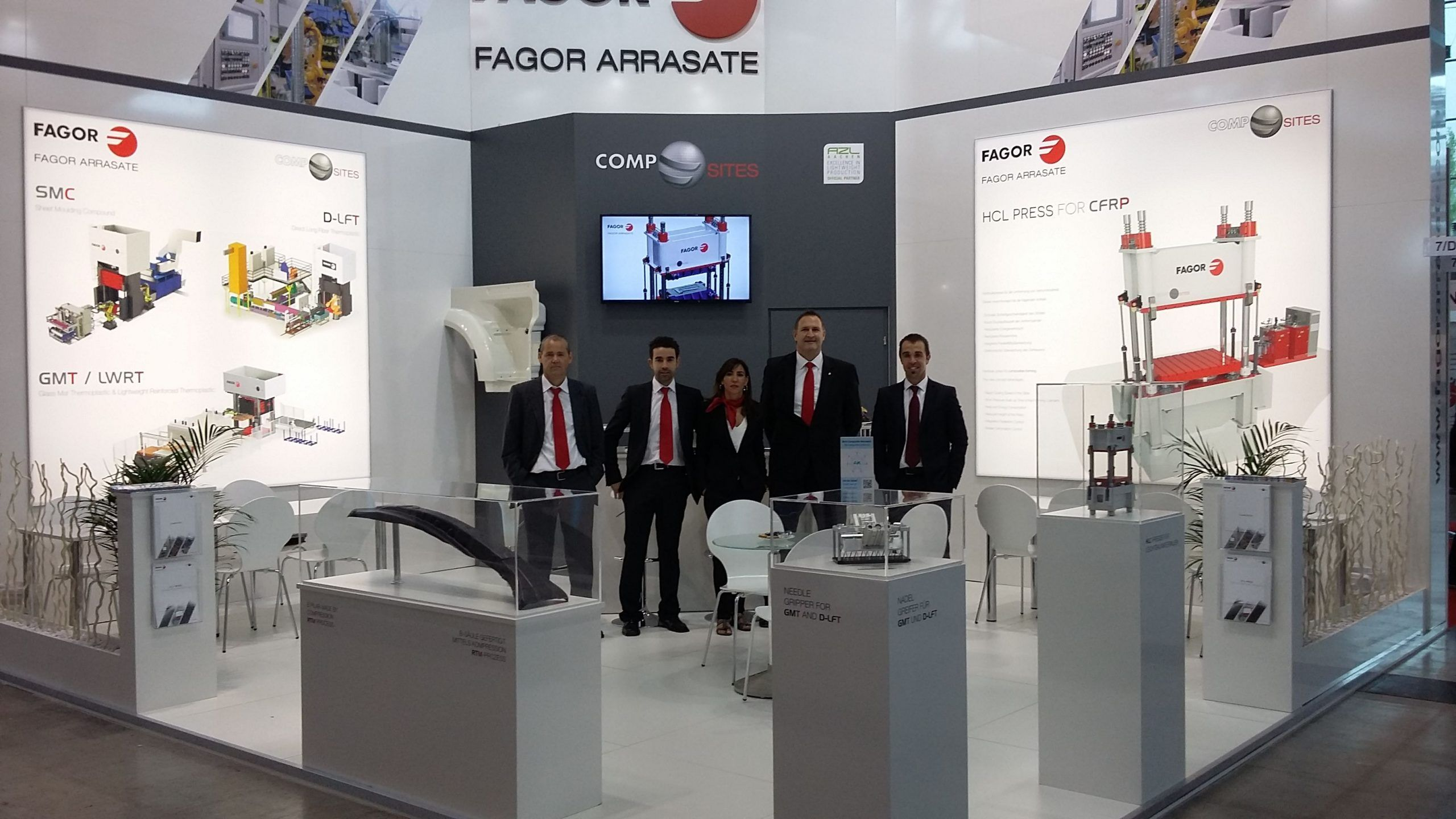 Fagor Arrasate event: IN GERMANY, FAGOR ARRASATE SHOWS ITS KNOW-HOW IN THE COMPOSITES' FIELD