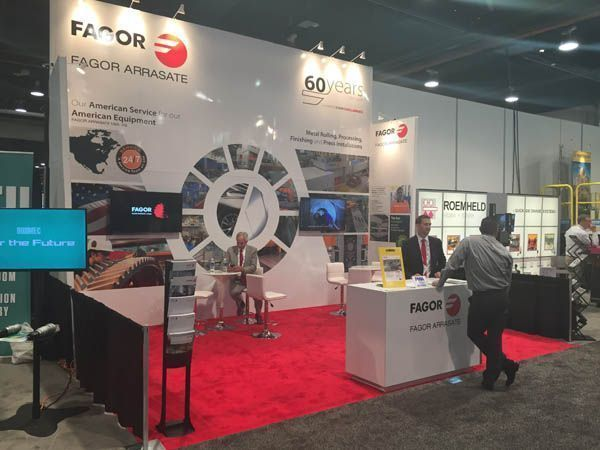 Fagor Arrasate event: FAGOR ARRASATE INTRODUCED ITS PRODUCTS AT THE FABTECH EXHIBITION 2016