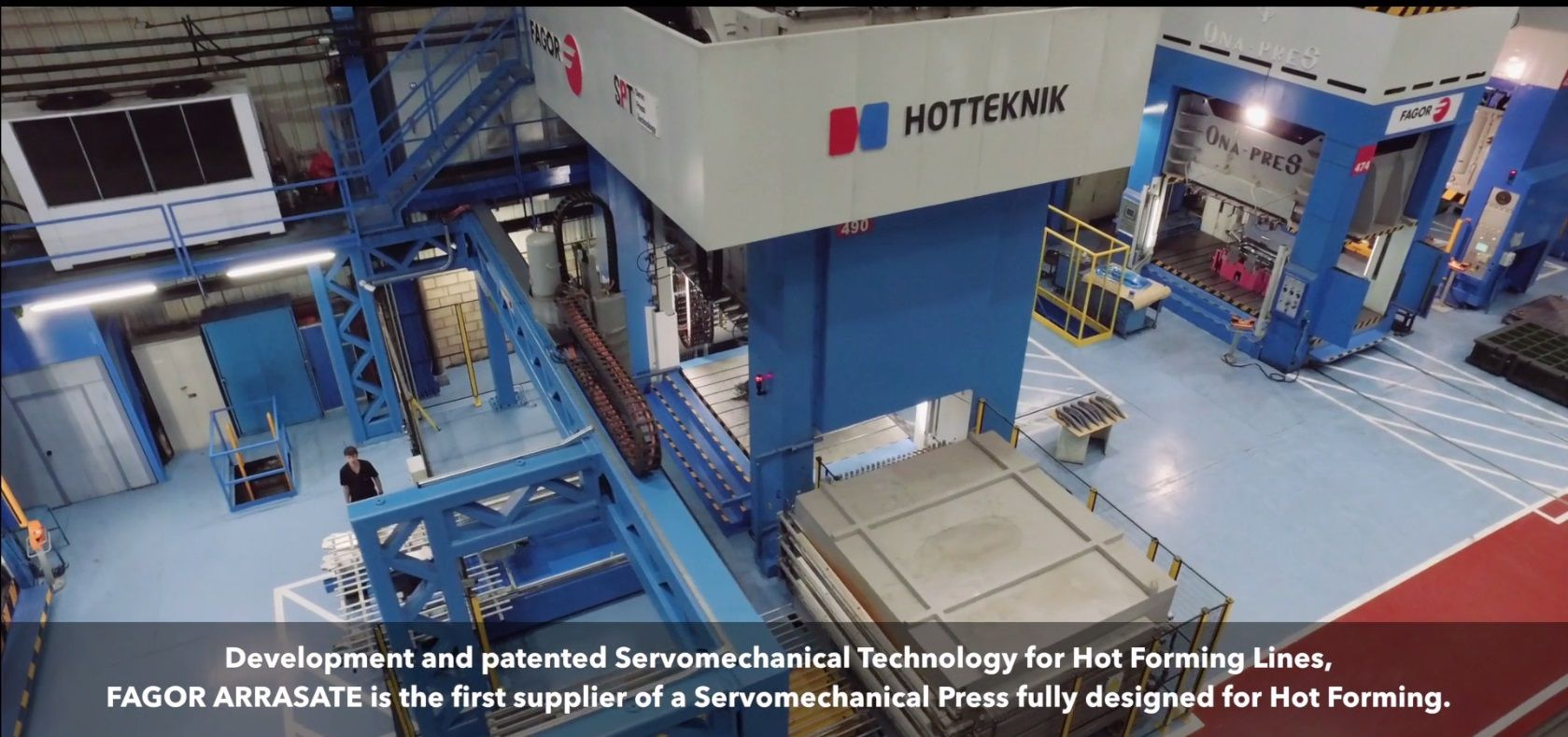 Fagor Arrasate event: NEW video on FAGOR ARRASATE's YOUTUBE channel: A Servomechanical Press designed for Hot Stamping