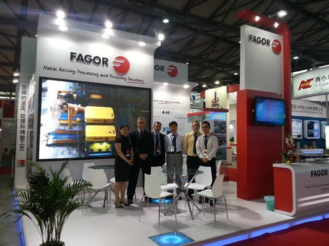 Fagor Arrasate event: GREAT SUCCESS OF FAGOR ARRASATE AT THE MTM EXHIBITION IN SHANGHAI