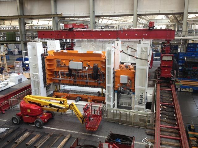 Fagor Arrasate event: German Press writes about the commissioning of a 2400 ton FAGOR press in Volkswagen