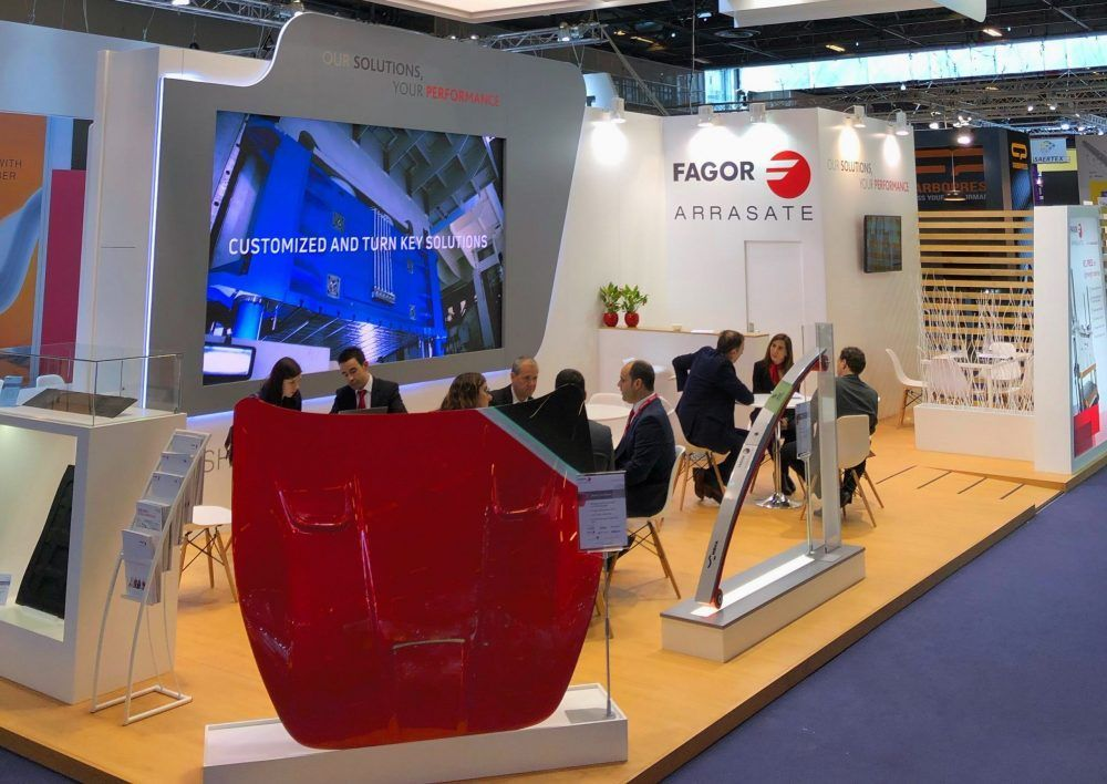 Fagor Arrasate event: Fagor Arrasate presents its latest innovations for the composite industry at the JEC
