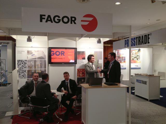Fagor Arrasate event: FAGOR ARRASATE PARTICIPA EN EL 21º. CONGRESO INTERNACIONAL DE FORJA