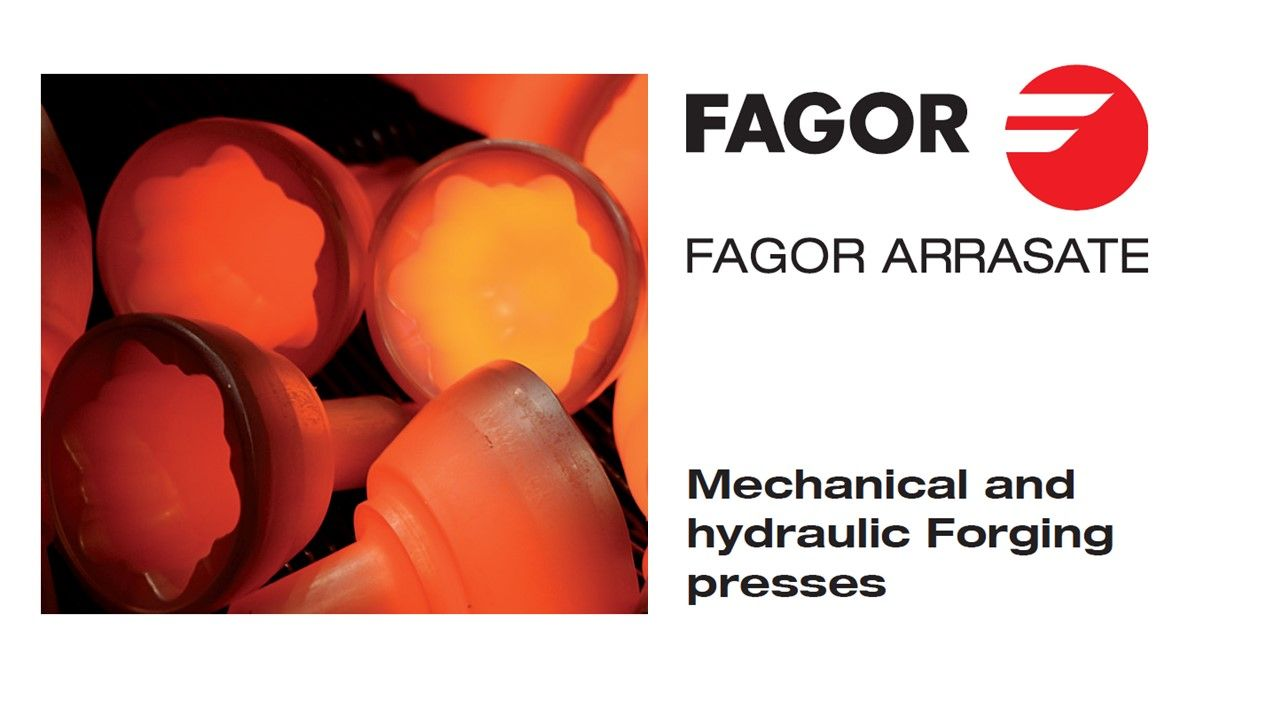 Fagor Arrasate event: HIRSCHVOGEL turns to FAGOR ARRASATE once again for the manufacture of a 2000-ton warm FORGING transfer press