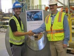 Fagor Arrasate event: CONGRATULATIONS FROM THYSSENKRUPP TO OUR STEEL BUSINESS UNIT