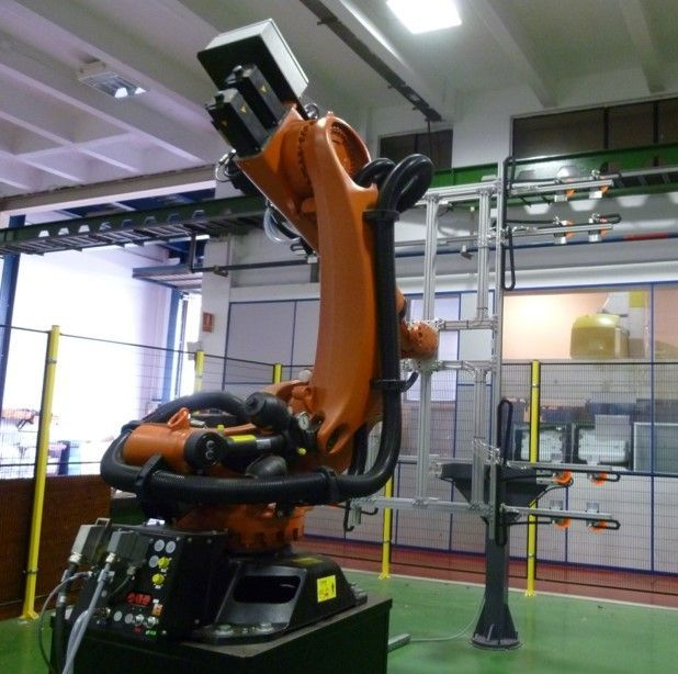 Fagor Arrasate event: Automatic, Flexible and Smart Handling Device for Stacking Blanks