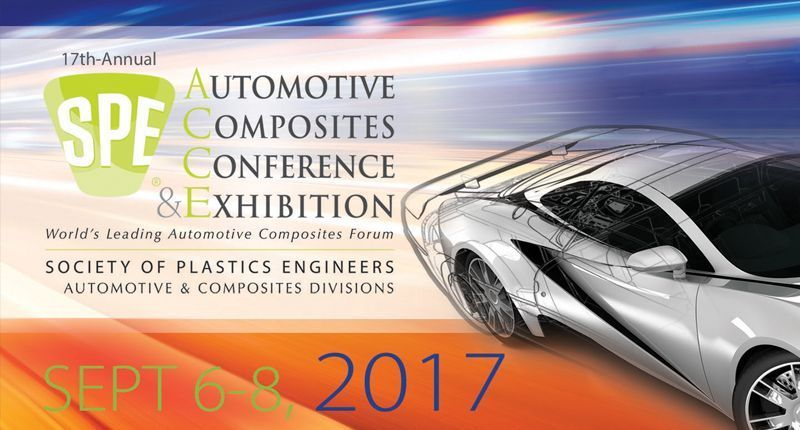 Fagor Arrasate event: Fagor Arrasate exhibits in the annual Automotive Composites Conference & Exhibition (ACCE)