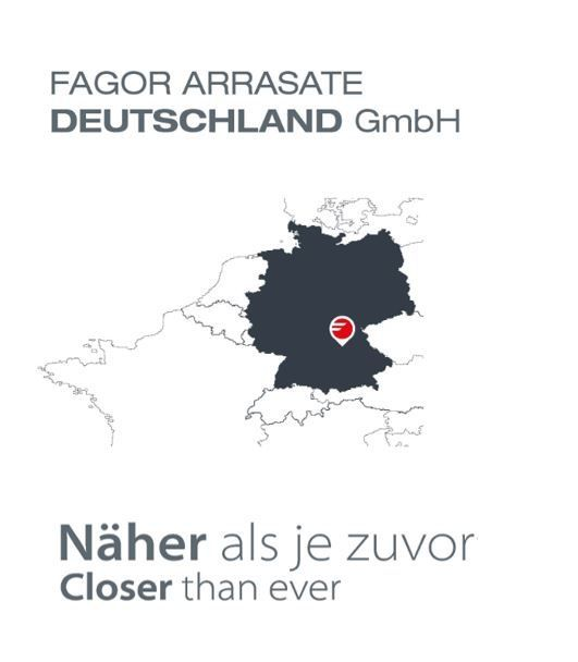 Fagor Arrasate event: FAGOR ARRASATE DEUTSCHLAND GmbH FILIALAREN ERAKETA