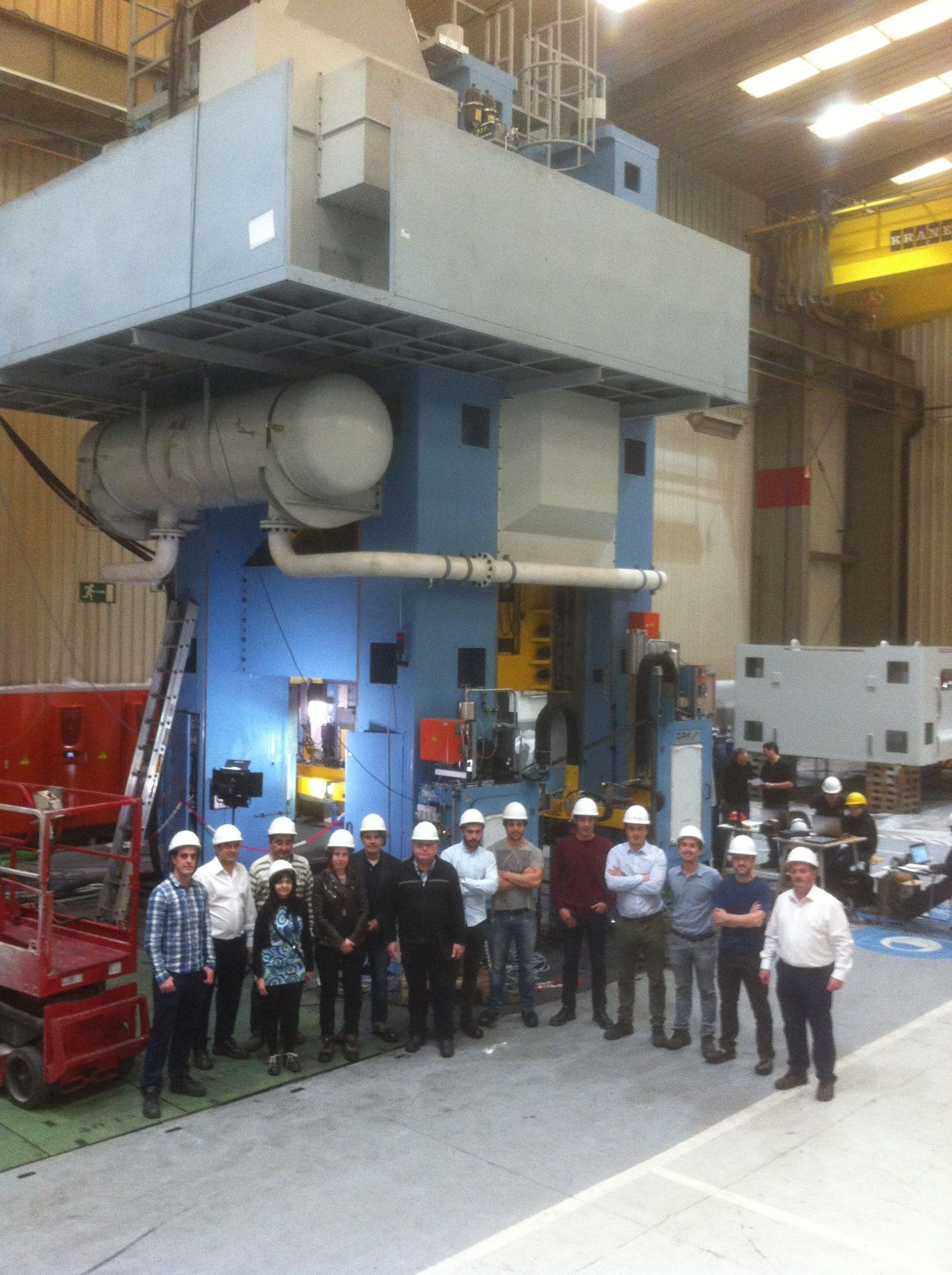 Fagor Arrasate event: Successful Open House to showcase the 2000-ton transfer press for FORGING