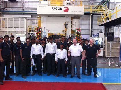 Fagor Arrasate event: GKN DRIVELINE INDIA, Indiako lehenengo forja lantegiaren inaugurazioa