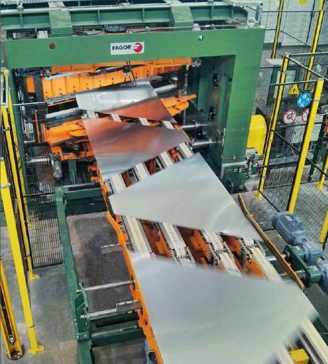 Fagor Arrasate event: FAGOR ARRASATE CHOSEN BY NOVELIS TO SUPPLY TWO TREATED ALUMINIUM CUT TO LENGTH LINES FOR THE AUTOMOTIVE INDUSTRY