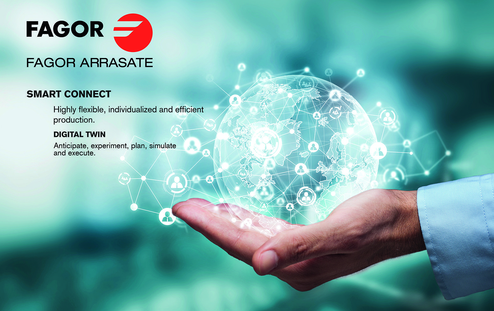 Fagor Arrasate event: FAGOR ARRASATE WILL BE EXHIBITING ITS DIGITALISATION SUPPORT SOLUTIONS AT THE MACHINE-TOOL BIENNIAL