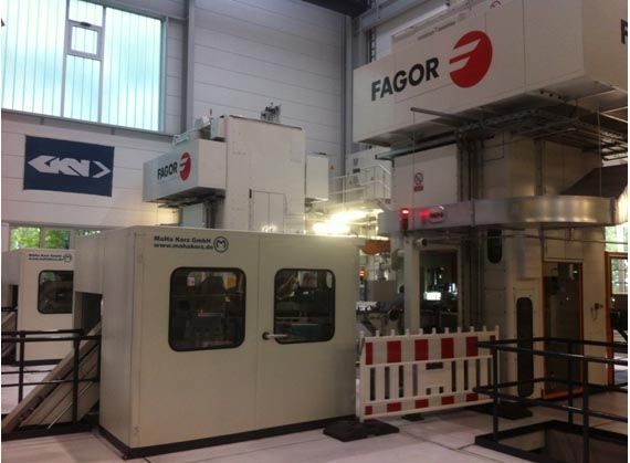 Fagor Arrasate event: ORDER FROM GKN Driveline  ABOUT A AUTOMATIC LINE