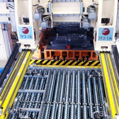 Fagor Arrasate - Press hardening transfer line-