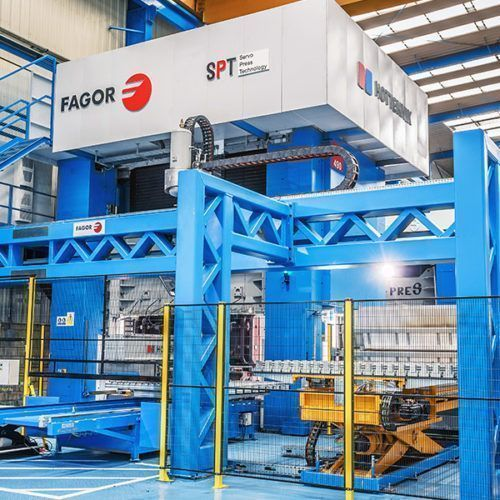 Fagor Arrasate - Press hardening with servomechanical press-