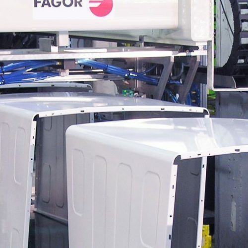 Fagor Arrasate - Washing machine part manufacturing lines-
