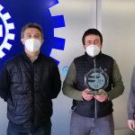 Best Supplier of the Year 2020 to the company XUBI ENGRANAJES